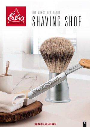 ERBE Shaving Shop Katalogtitel