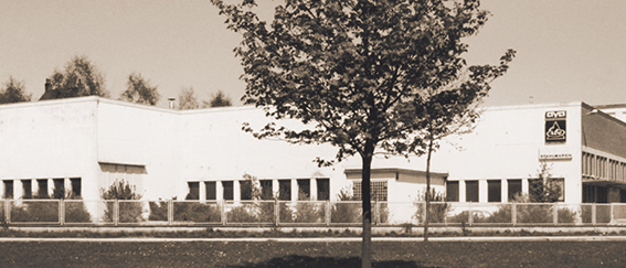 Firmengebäude Historie