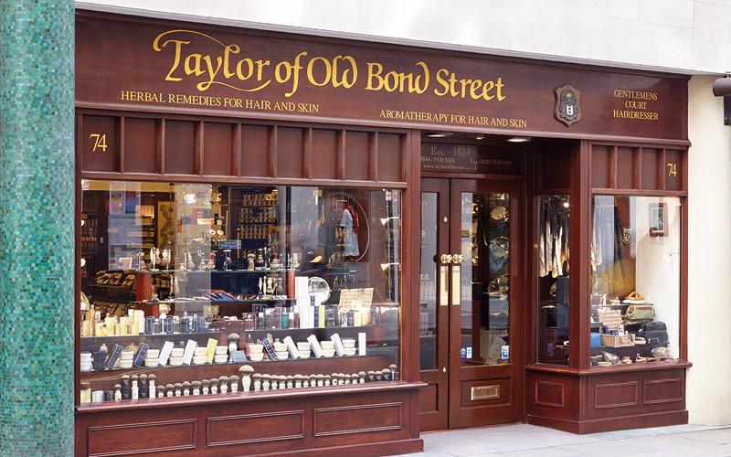 Kult Ladenlokal in der Jermyn Street in London von Taylor