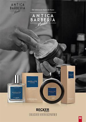 Mondial - Antica Barberia Katalogtitel