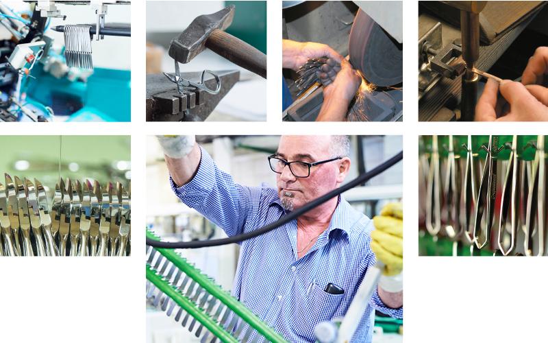 Solinger Stahlwaren Produktionsbilder