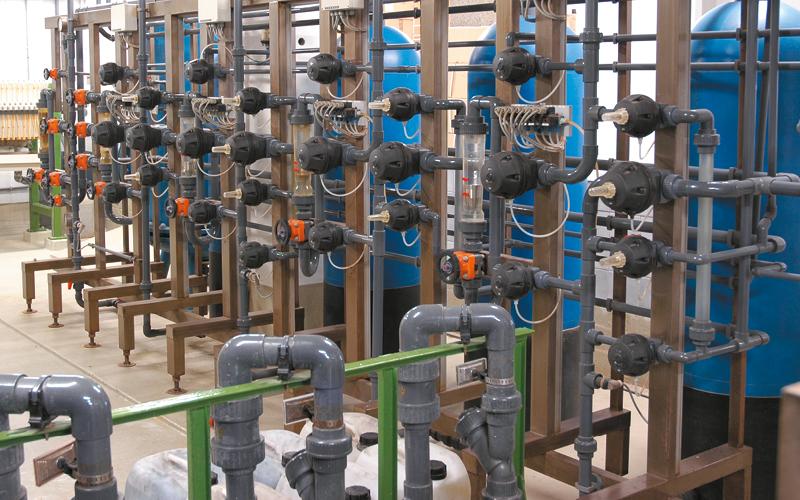 Wasserwiederaufbereitungsanlage bei Becker Solingen